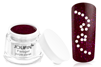 Jolifin Farbgel 4plus purple planet 5ml