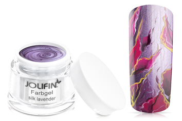 Jolifin Farbgel 4plus silk lavender 5ml
