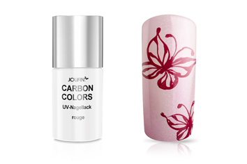 Jolifin Carbon Colors UV-Nagellack rouge 11ml