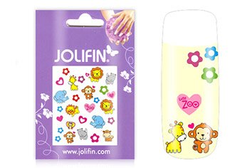 Jolifin Girlie Nailart Sticker Nr. 1