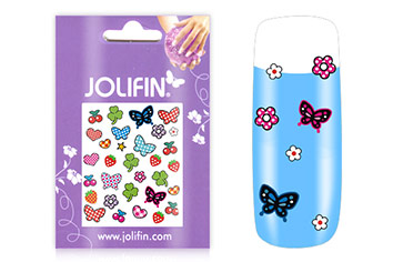 Jolifin Girlie Nailart Sticker Nr. 5