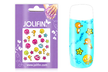 Jolifin Girlie Nailart Sticker Nr. 7