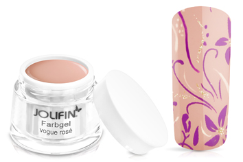 Jolifin Farbgel 4plus vogue rosé 5ml