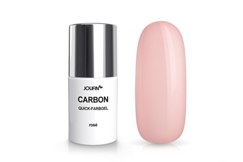 Jolifin Carbon Colors UV-Nagellack rosé 11ml
