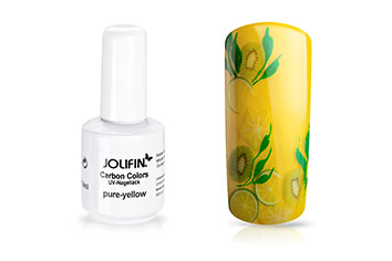 Jolifin Carbon Quick-Farbgel - pure-yellow 11ml