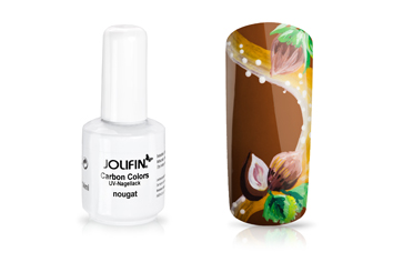 Jolifin Carbon Quick-Farbgel - nougat 11ml
