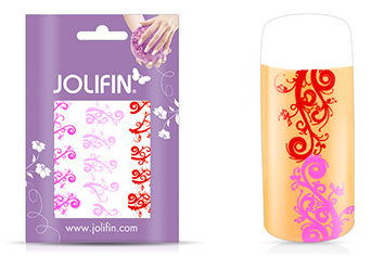 Jolifin Jolly Nailart Tattoo 3 pink