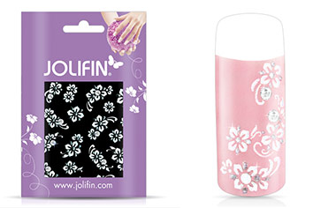 Jolifin Nailart Wedding Sticker Nr. 3