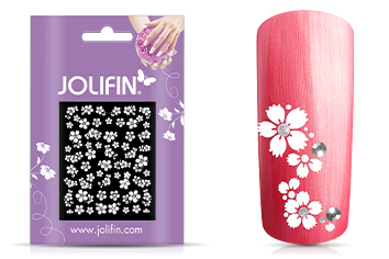 Jolifin Nailart Wedding Sticker Nr. 6