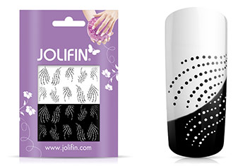 Jolifin Jolly Nailart Tattoo 6 black