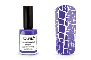 Jolifin Cracked Nagellack purple 14ml
