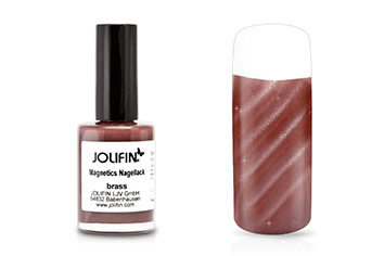 Jolifin Magnetics Nagellack brass 14ml