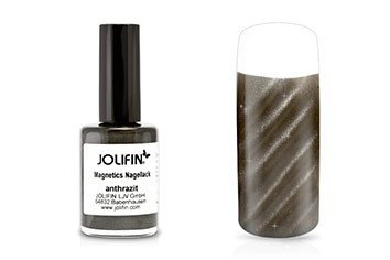 Jolifin Magnetics Nagellack anthrazit 14ml