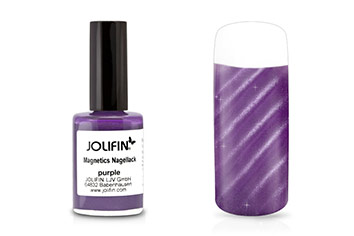 Jolifin Magnetics Nagellack purple 14ml