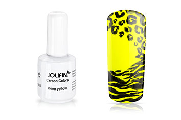 Jolifin Carbon Quick-Farbgel - neon yellow 11ml