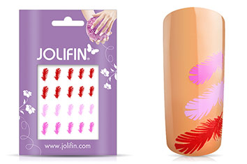 Jolifin Jolly Nailart Tattoo 11 pink