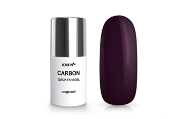 Jolifin Carbon Colors UV-Nagellack rouge noir 11ml
