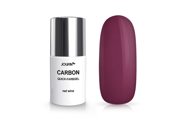 Jolifin Carbon Colors UV-Nagellack red wine 11ml