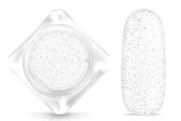 Jolifin Glitterpuder crystal weiss