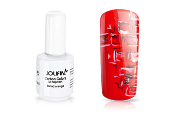 Jolifin Carbon Colors UV-Nagellack blood orange 11ml