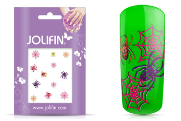Jolifin Scary Nailart Halloween Tattoo 3
