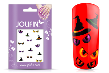 Jolifin Scary Nailart Halloween Tattoo 7