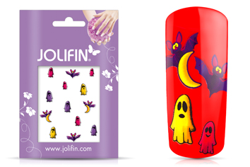 Jolifin Scary Nailart Halloween Tattoo 8