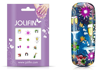 Jolifin Nailart Silvester Tattoo 2