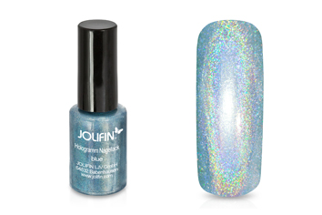 Jolifin Hologramm Nagellack blue 5ml