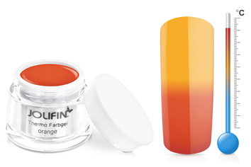 Jolifin Thermo Farbgel 4plus orange 5ml