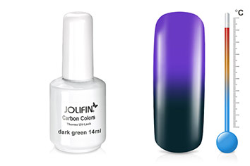 Jolifin Carbon Colors Thermo UV-Lack dark green 11ml
