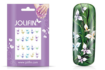 Jolifin soft Nailart Sticker Folie 1