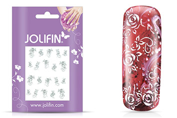 Jolifin soft Nailart Sticker Folie 5