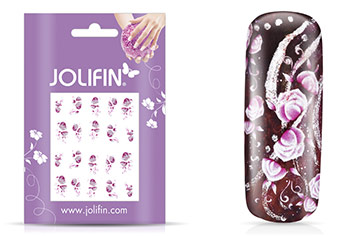 Jolifin soft Nailart Sticker Folie 7