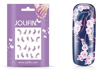 Jolifin soft Nailart Sticker Folie 8