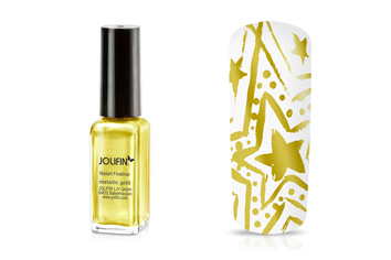 Jolifin Nailart Fineliner metallic gold 10ml
