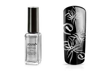 Jolifin Nailart Fineliner silver 10ml