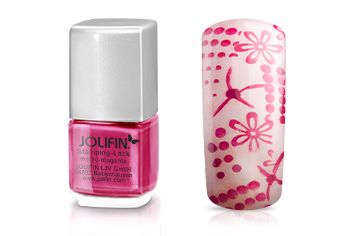 Jolifin Stamping-Lack - magic-magenta 12ml