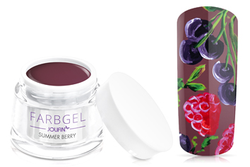 Jolifin Farbgel 4plus summer berry 5ml