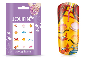Jolifin Nailart Holiday Tattoo 6