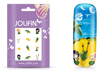 Jolifin Nailart Holiday Tattoo 10