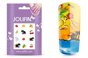 Jolifin Nailart Holiday Tattoo 11