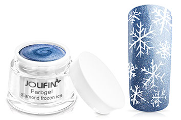 Jolifin Farbgel 4plus diamond frozen ice 5ml