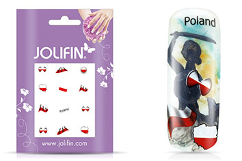 Jolifin Fussball Nailart Tattoo 6