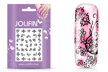 Jolifin Girlie Glitter Nailart Sticker 1