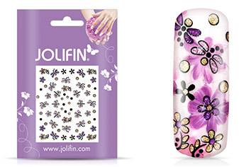 Jolifin Girlie Glitter Nailart Sticker 8