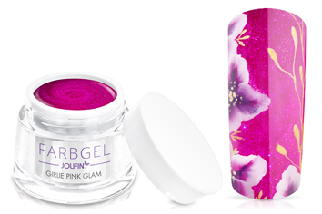 Jolifin Farbgel girlie pink Glam 5ml