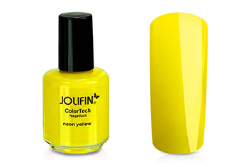 Jolifin ColorTech Nagellack Neon yellow 14ml