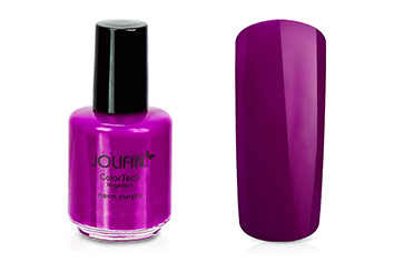 Jolifin ColorTech Nagellack Neon purple 14ml