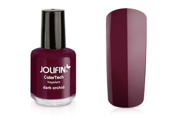 Jolifin ColorTech Nagellack dark orchid 14ml